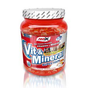 Amix Super Pack Vit&Mineral - 30 sasz.