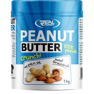 Real Pharm Peanut Butter Crunchy - 1000g
