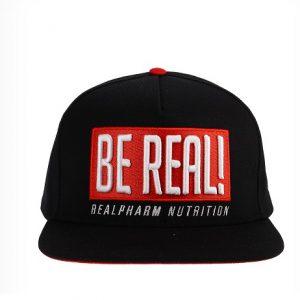 Real Wear Czapka z daszkiem BE REAL! czarna
