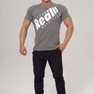 Real Wear T-Shirt SZTANGA szary