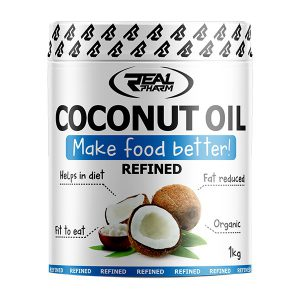 Real Pharm Coconut Oli rafinowany - 1000ml