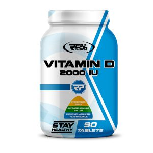 Real Pharm Vitamin D 2000IU - 90 tabl.