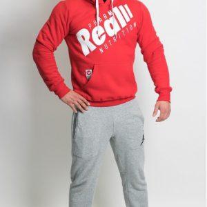 Real Wear Bluza SZTANGA czerwona